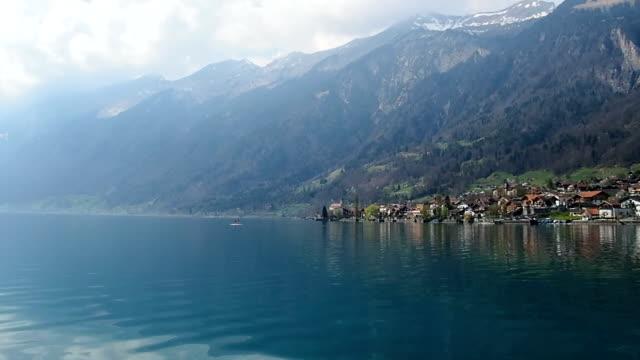 visa brienzsjön, schweiz - turistbåt bildbanksvideor och videomaterial från bakom kulisserna