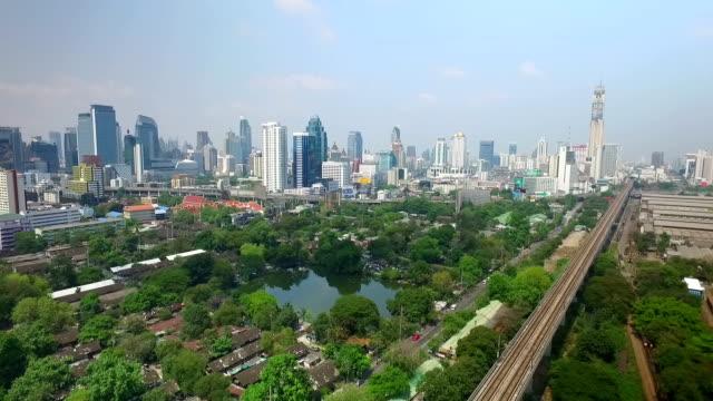 View of Bangkok City Thailand video