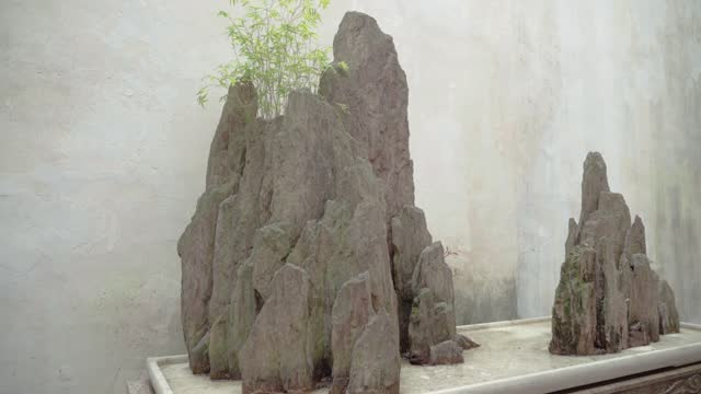 View of Chinese classical garden,Suzhou,China.