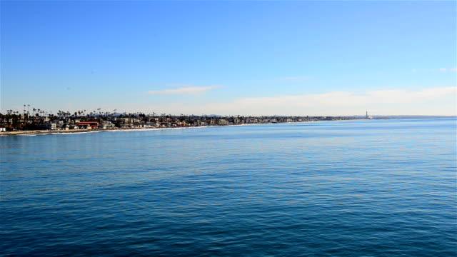 vista della costa di san diego - antsiranana video stock e b–roll
