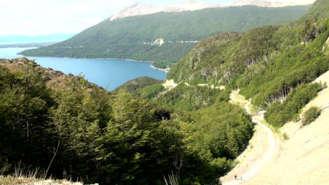 Vista do Lago Escondido (Tierra del Fuego lago) - vídeo