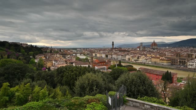 View of Florence city from Piazzale Michelangelo