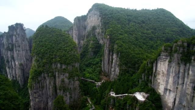 View of GrandCanyonScenicSpotinEnshi,Hubei,China.