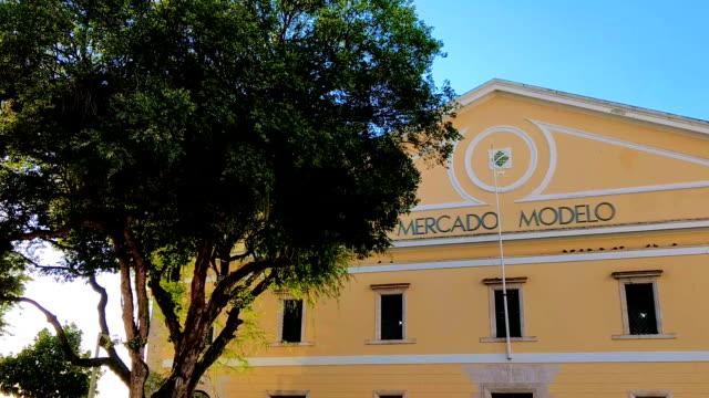 View of Mercado Modelo at Salvador Bahia