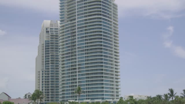 View Of Miami Waterway From Boat View Of Miami Waterway From Boat florida us state stock videos & royalty-free footage