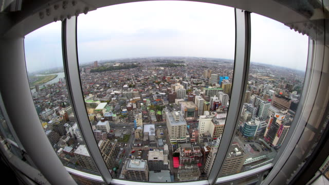 view of modern tokyo city japan - futuristic architecture stock videos & royalty-free footage