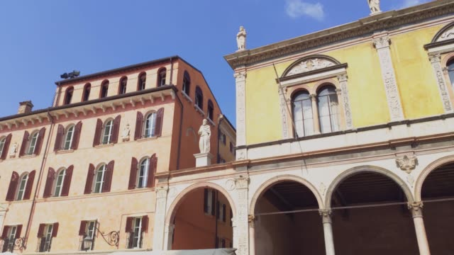 View of Piazza dei Signori in Verona in Italy 3