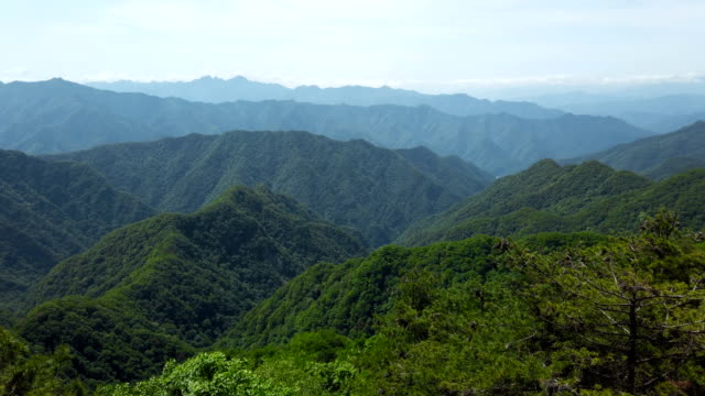 View of Qinling Mountains,Shaanxi,China.