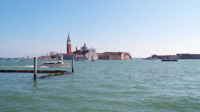 View of San Giorgio Maggiore video