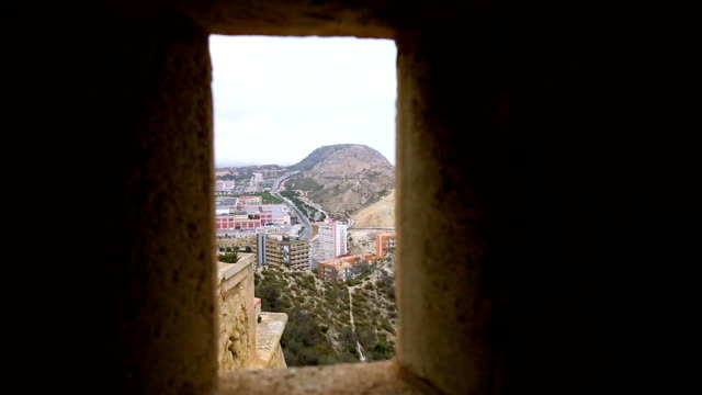 A view of the Alicante from Santa Barbara video