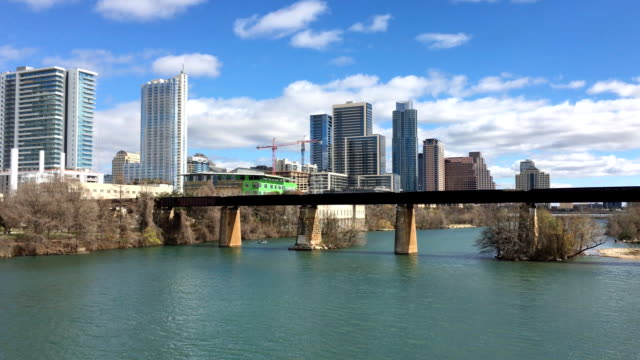 View of the Austin skyline video