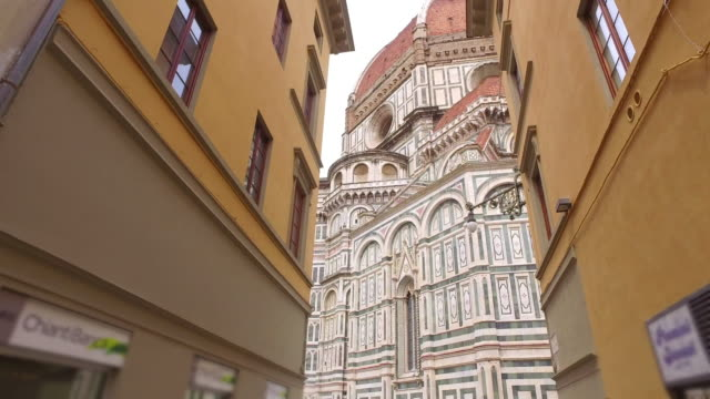 A view of the Basilica of Santa Maria del Fiore in Florence video