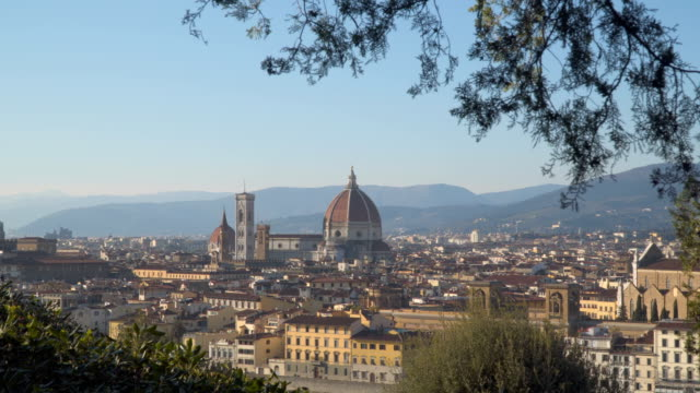 View of the center of Florence video
