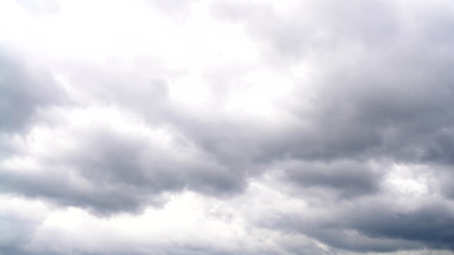 view of the cloudy sky video
