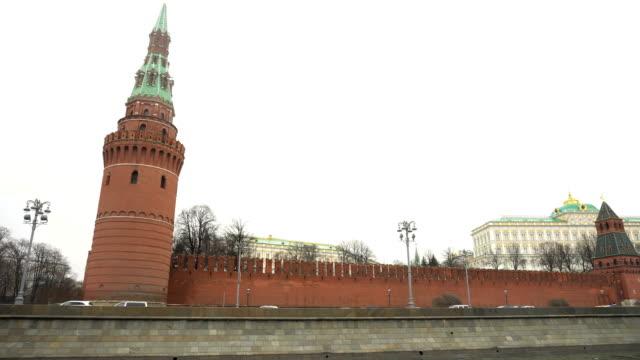 utsikt över grand kremlin palace - kreml bildbanksvideor och videomaterial från bakom kulisserna