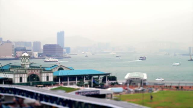 View of the Hong Kong Bay video