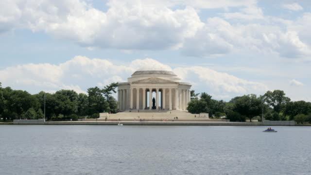 View of the Thomas Jefferson Memorial