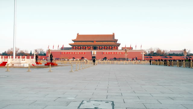View of Tiananmen square,Beijing,China.
