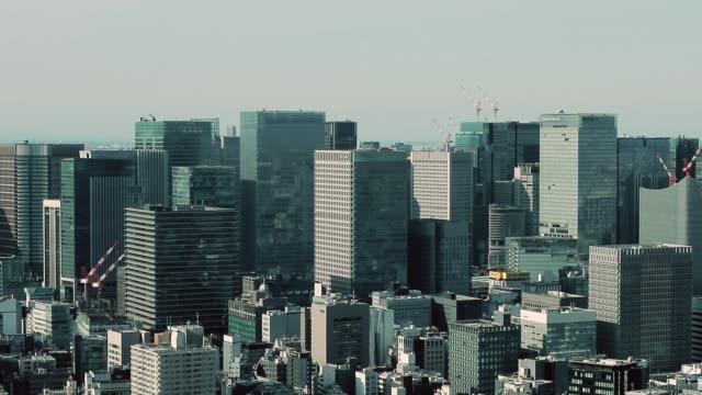 東京の夜景 - 建物点の映像素材/bロール