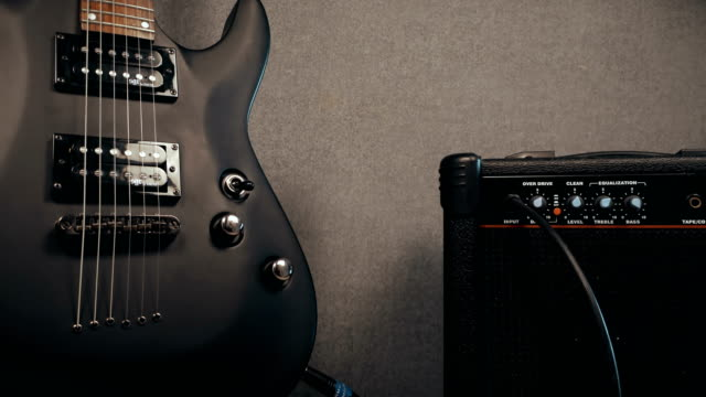 View On Amplifier Knobs, Plugs And Electric Guitar video
