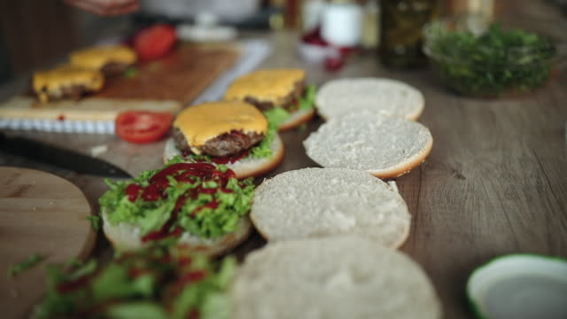 View On Delicious Homemade Hamburgers