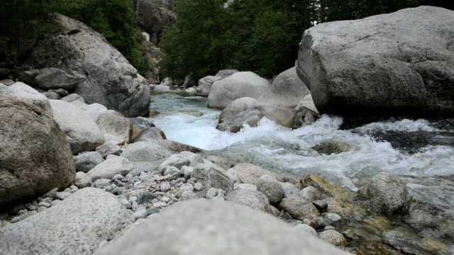 View on the Restonica river, Corsica video