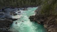 istock View on The Surface Of A Mountain River Glomaga, Marmorslottet , Mo i Rana 1308245085