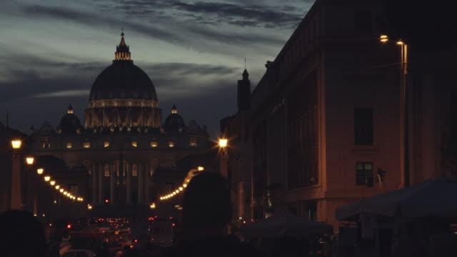 View on Via della Conciliazione in Vatican, Rome video
