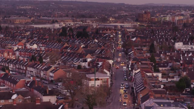 View Over Houses of Watford, England video