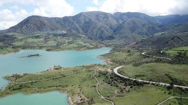 view over Zahara inland lake