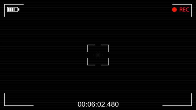 Viseur de la caméra vidéo numérique - Vidéo