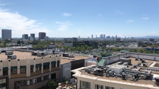 Views from Los Angeles downtown video