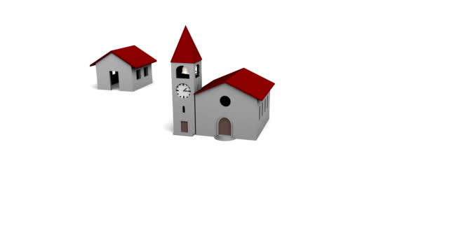 Village Growing Around the Church video
