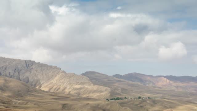 村の東部アナトリア time lapse (低速度撮影) - アナトリア点の映像素材/bロール