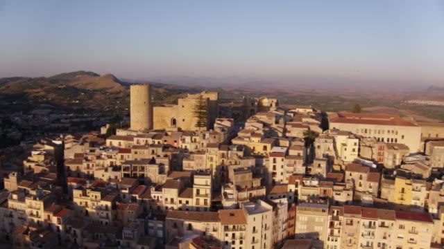 義大利 salemi 村 - sicily 個影片檔及 b 捲影像