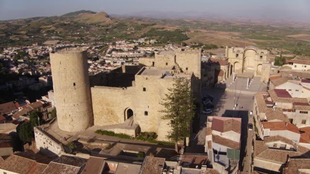 Village of Salemi in Italy video