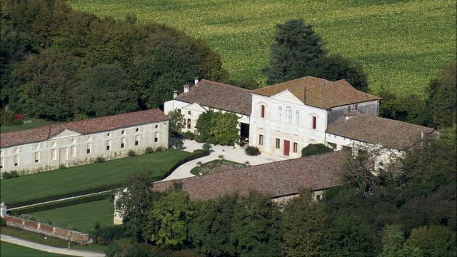 Villas Of Veneto  - Aerial View - Veneto, Provincia di Vicenza, Vicenza, Italy video