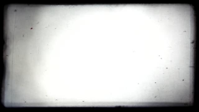 Vintage 8 mm Film Blinking. HD, loop (vj). video