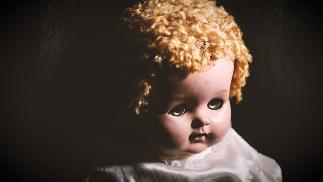 Vintage Baby Doll With Spooky Look