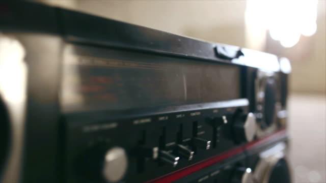 Vintage Cassette Boombox video