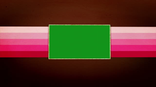 vídeos de stock, filmes e b-roll de conceito vintage e tela verde, com canal alfa, 4 km - polaroid
