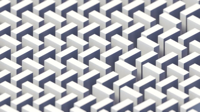Vintage cover design with white isometric moving pattern. 3d rendering digital seamless loop animation. 4K, Ultra HD resolution Vintage cover design with white isometric moving pattern. Abstract geometry shape background. 3d rendering digital seamless loop animation. 4K, Ultra HD resolution mosaic stock videos & royalty-free footage