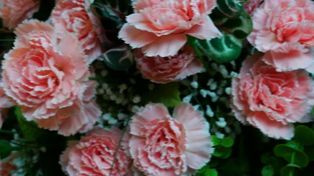 Vintage flower in room