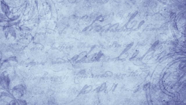 Vintage letter seamless background video