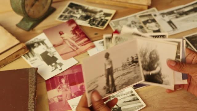 vintage photos - sentimentalitet bildbanksvideor och videomaterial från bakom kulisserna