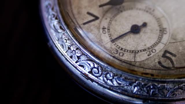vidéos et rushes de montre de poche vintage  - timeline