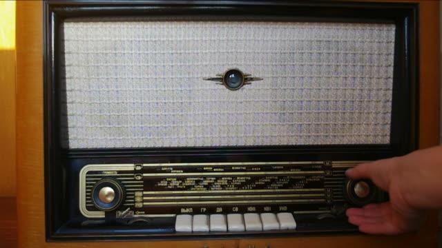 Vintage Retro Radio. video