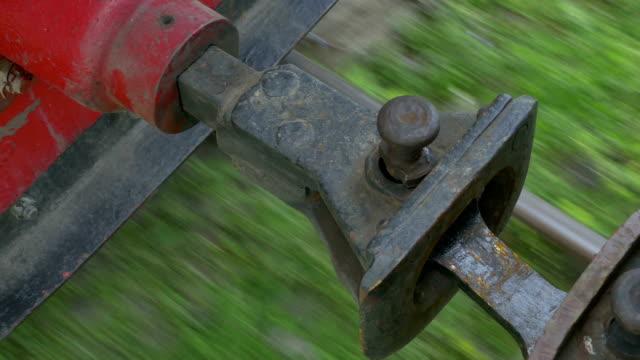 vidéos et rushes de train à vapeur vintage lier - wagon