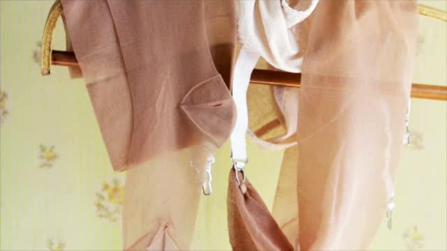 Sous-vêtements vintage - Vidéo