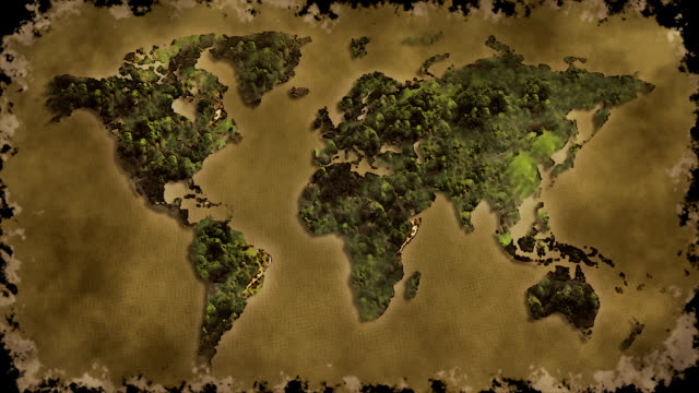 pretty nice 9e50e eaad0 Vintage World Map Burn Black Screen Stock Video   More Clips of 2015 -  iStock